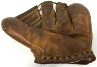 Vintage 1940s 1950s RAWLINGS PML Playmaker Major Leaguer Baseball Mitt Glove