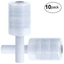Lot 10 Mini Rouleau Bobine Film étirable Transparent 150m x 100mm pour emballage
