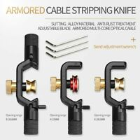 Armored Wire Strippers Knife Fiber Optical Cable Slitter Stripping Cutter Tools