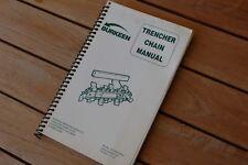 heavy equipment manuals books for bobcat trencher for sale ebay rh ebay com