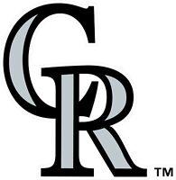 "Colorado Rockies MLB Vinyl Decal - You Choose Size 2""-28"""
