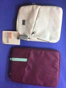 BUILT and case logic tablet sleeve zippered case READ 9 10 11 12 Inch B