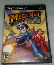 Mega Man Anniversary Collection (Sony PlayStation 2, 2004) CIB