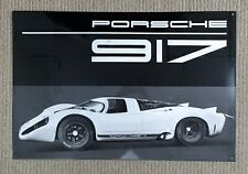 RARE OEM PORSCHE 917 KH HERITAGE ENAMEL SIGN LIMITED EDITION NEW/SEALED BOX! 911