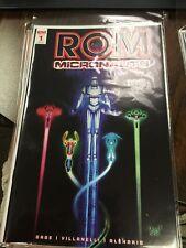 Rom And Micronauts #1 RI-A, #2 RI, #3 RI