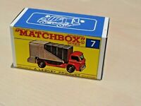 MATCHBOX REG.WHEELS NO.7C FORD REFUSE TRUCK CUSTOM REPLACEMENT DISPLAY BOX ONLY
