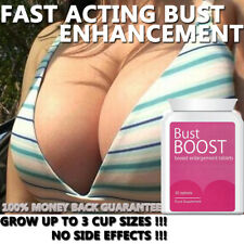 BUST BOOST BREAST ENLARGEMENT PILLS TABLETS NATURAL SAFE HERBAL BIG CLEAVAGE