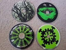 4 Type O Negative cds lot Peter Steele S/T,least, bloody kisses, origin of feces