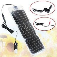 New Semi-flexible 18V 10W Monocrystalline Silicon Solar Panel Battery Charger