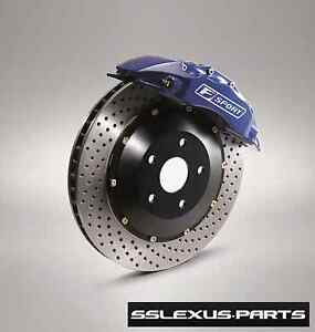 Lexus IS350 GS350 F-SPORT PERFORMANCE BIG FRONT BRAKE KIT OEM PTR09-30102