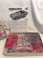 Tamiya Honda S800 - 1/24 Scale Sports Car Series No. 190 Model Kit!  #642