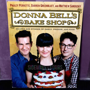 DONNA BELL'S BAKE SHOP POSTER Pauley Perrette book signing NCIS Abby RARE promo