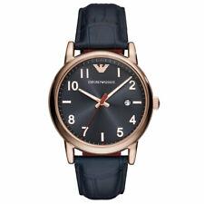 2e48f524020 Capa de Prata Redondo Emporio Armani Relógios de Pulso