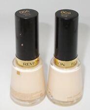 2 REVLON Nail Enamel Polish Lacquer SHEER PINK 006