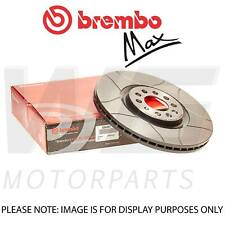 Brembo Max 312mm Front Brake Discs for SEAT LEON SC (5F5) 1.6 TDI