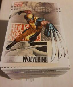 2013 Marvel NOW! Trading Cards COMPLETE BASE SET, #1-100 - NM/M! - Upper Deck