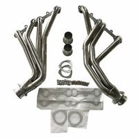 STAINLESS MANIFOLD LONG TUBE HEADER/EXHAUST FOR 84-91 Chevy GMC C/K 5.0/5.7 SBC