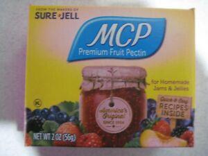 Sure Jell MCP Premium Fruit Pectin 2 oz Per Box Lot of 36 Exp MARCH 2023