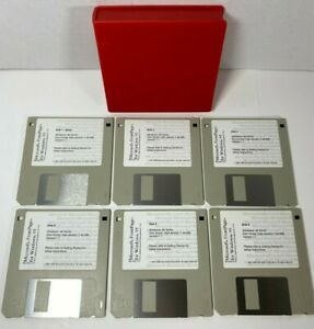 Microsoft FrontPage For Windows 95 Floppy W/ Case Holder