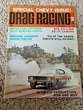 1970 Drag Racing USA Magazine  Special Chevy Issue