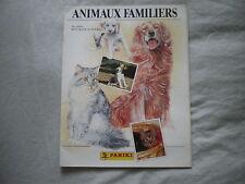 PANINI - 3 Albums - Animaux Familiers - Oliver et Compagnie - Nature en danger