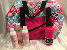 AVON Naturals 'Cherry Blossom' Shower Gel (Bonus size), Body Lotion x 2 & Bag!