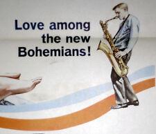 JACK KEROUAC/GERRY MULLIGAN/BEATNIKS orig 1960 movie poster THE SUBTERRANEANS