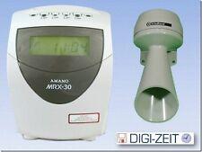 Amano MX-300 Rechnende Stempeluhr für 1 - 50 Mitarbeiter Stechuhr