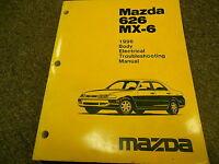 1996 MAZDA 626 MX-6 MX6 Body Electrical Service Repair Shop Manual 96