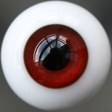 12mm Wine Red For BJD Doll Dollfie Glass Eyes Outfit