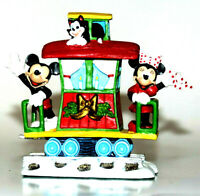 DONALD'S HOLIDAY EXPRESS Collectible DISNEY DANBURY MINT MICKEY & MINNIE CABOOSE