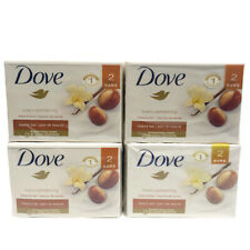 8 Pack Bars DOVE Purely Pampering Shea Butter Warm Vanilla Body Soap 4oz Each