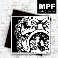 Kraken/Octopus card hand made tattoo/punk/biker/goth birthday/any occasion