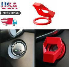 Universal Car Interior Engine Start Stop Push Button Switch Cover Trim Sticker