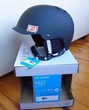2016 Giro Vault Snowboard Helmet, Matte Black/Metal, Medium (55.5-59cm), New