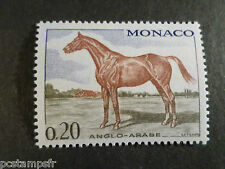 MONACO 1970, timbre 832, CHEVAL ANGLO-ARABE, neuf**, VF MNH STAMP, HORSE