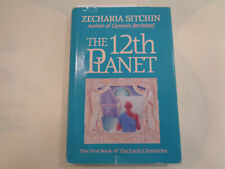 The 12th Planet by Zecharia Sitchin HBDJ 1991 with SIGNED Letter from Author