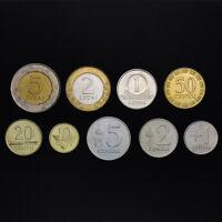 [L-1] Lithuania Set 9 Coins, 1+2+5+10+20+50 centai +1 2 5 litas, 1991-2010, UNC