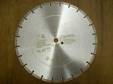 "14"" Diamond Blade - Cuts Concrete, Brick, Block - Great for Stihl cutoff saws"