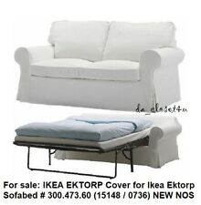 IKEA COVER for IKEA EKTORP SOFABED BLEKINGE WHITE 2 seat Sofa Bed Slipcover NOS