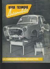 (C5)REVUE TECHNIQUE AUTO CARROSSERIE PANHARD/SIMCA/CITROEN/PEUGEOT/RENAULT