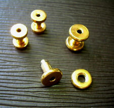Tunnel Plug Gold Over Surgical Steel Ml2 1 Pair 12g 2mm 14k Gold Plated Screw
