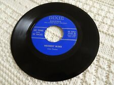 JAKE THOMAS WITH TOMCATS MEANEST BLUES/POOR BOY BLUES DIXIE 1112 M- ROCKABILLY