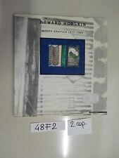 Hodgkin OPERA GRAFICA 1977- 1983 (48 F 2) catalogo arte