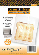 200 x DISPOSABLE CATERING TOASTER BAGS - FANTASTIC