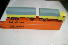 Conrad German Diecast truck and wagon model 3031 Bussing boxed