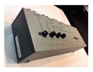 LUXMAN AS-5III Speaker Selector USED JAPAN amplifier phono tube CL-38 vintage
