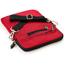 "9.7"" Red Tablet Shoulder Strap Bag Pouch Sleeve Case for ipad Pro"