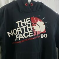 """The North Face Hoodie Antarctica Expedition 1990 Vintage HOLES Mens XL46"""" Chest"""