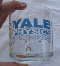 2000 Yale Physics Olympics Glass coffee / Tea  Mug / cup
